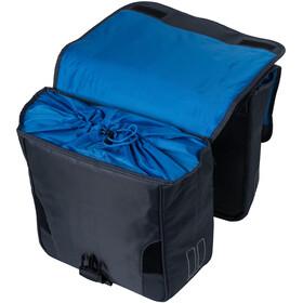 Basil Sport Design Borsa doppia per portapacchi 32l, nero